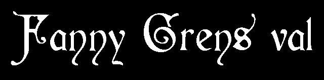 Fanny Gréns val
